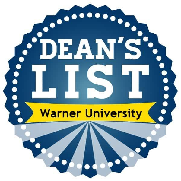 Dean's List Spring 2018