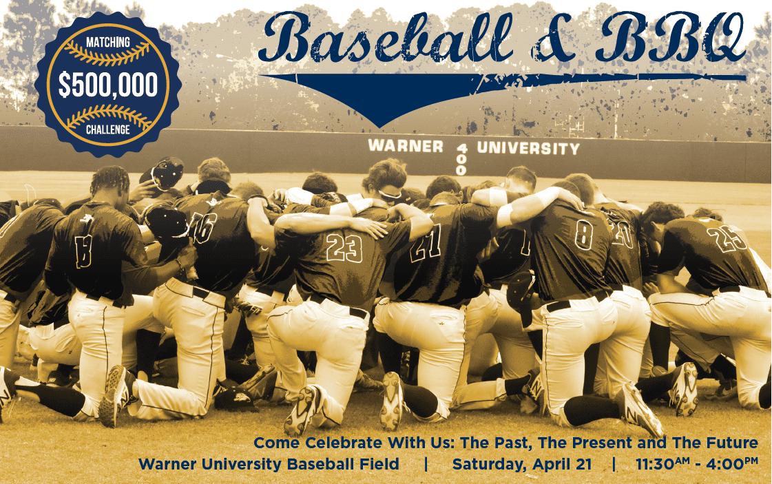 Baseball & BBQ Celebration Event – April 21st!