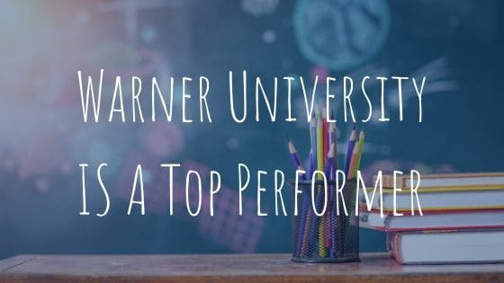 Warner is #1 in Professional Education!