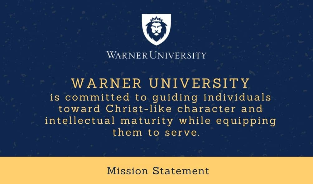 The Mission of Warner University