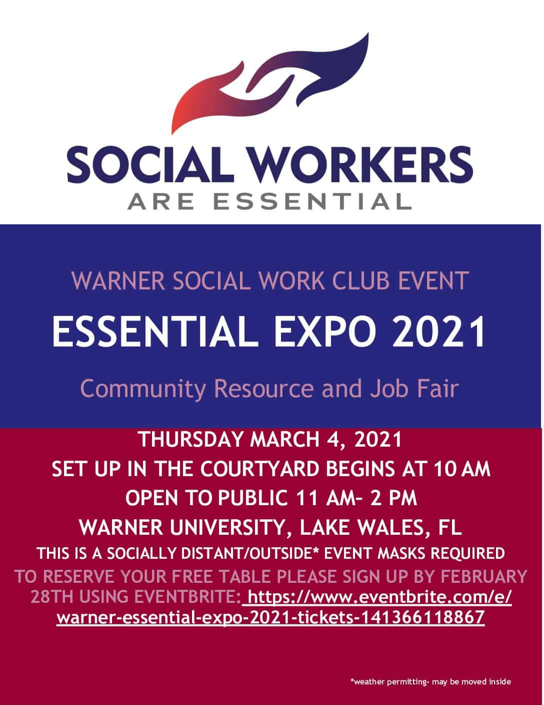 Social Work Essential Expo 2021