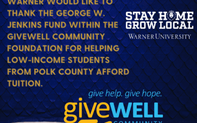 WU Receives Scholarship Grant from George W. Jenkins Fund